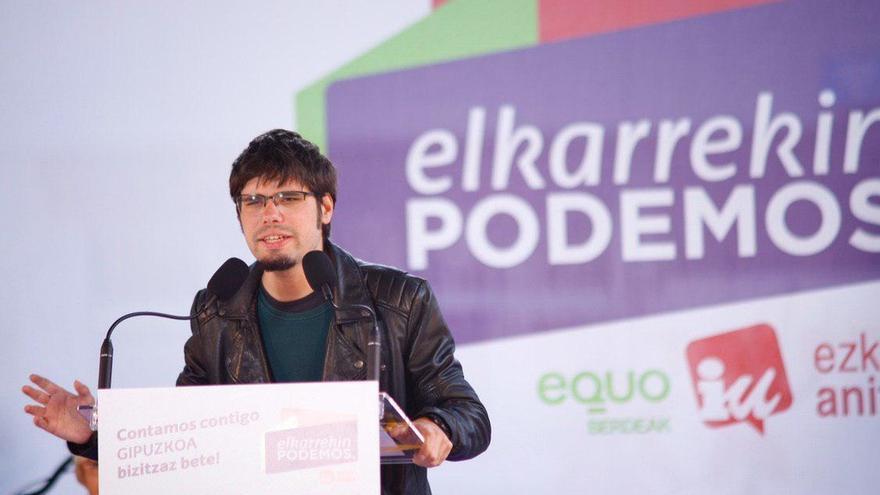 Martínez (Podemos Euskadi) entiende que PSOE y PNV se reúnan pero cree esencial que Sánchez se acerque a Unidos Podemos