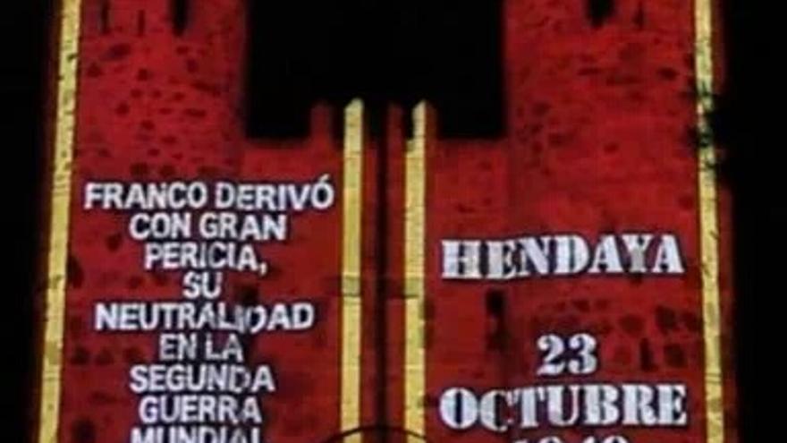 Otra de las proyecciones de luz en las XI Jornadas Visigodas de Guadamur / IU-CLM