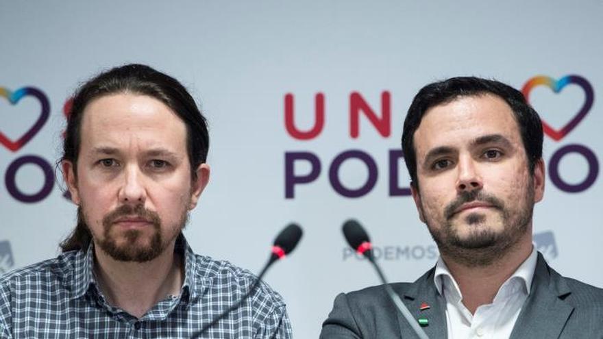 """Iglesias llama a la movilización """"antifascista"""" para frenar a Vox"""