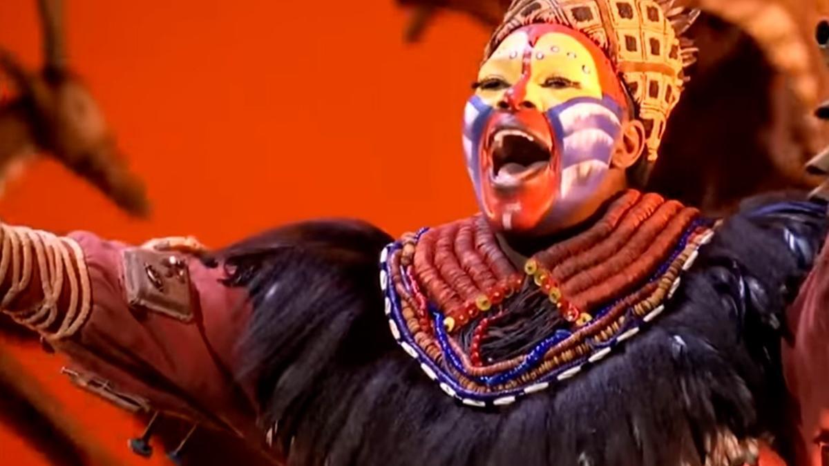 """""""El Rey León"""" vuelve a Broadway después del coronavirus."""
