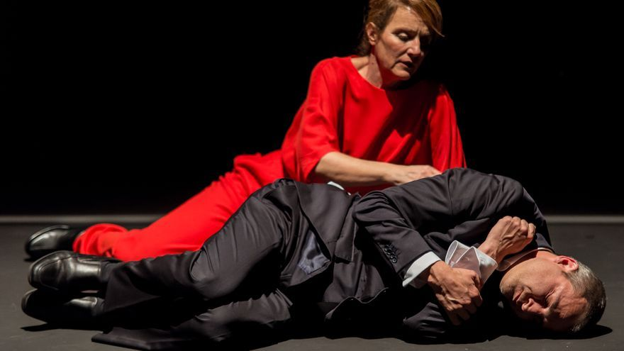 Alberto San Juan y Marta Calvó en 'Masacre'