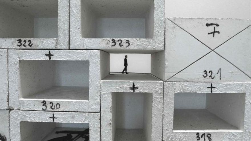 Las esculturas de Tàpies atrajeron a 216.277 visitantes al Museo Guggenheim