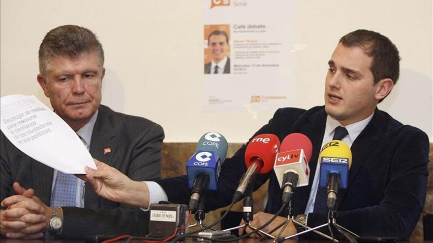 C's: PP y PSOE tienen que apostar por la limpieza de las instituciones para pactar