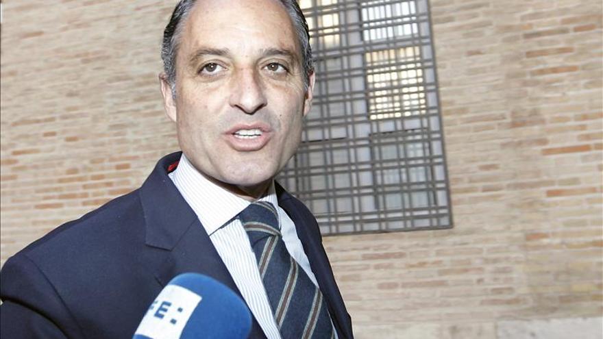 El TSJCV admite la querella de la Fiscalía contra Camps por la compra de Valmor