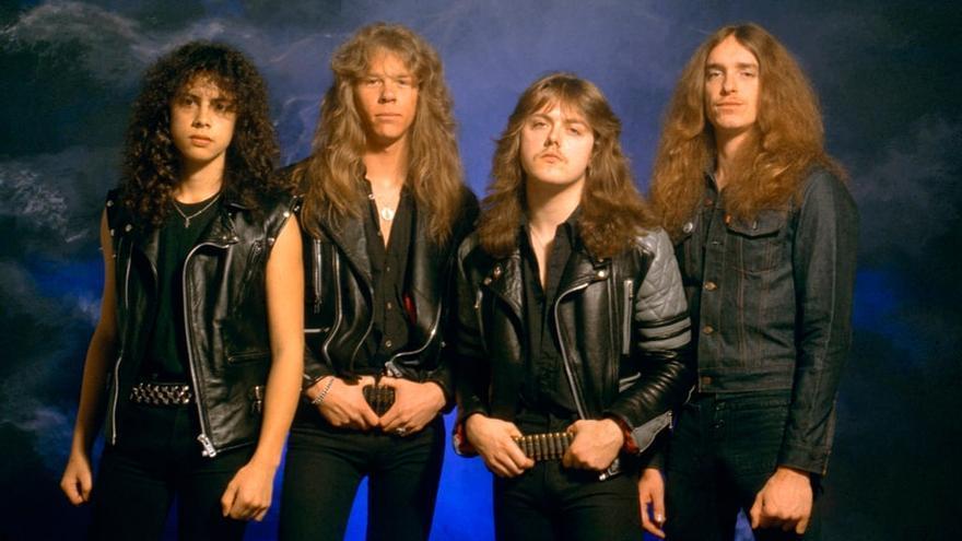 Metallica en los tiempos del 'Ride the Lightning'