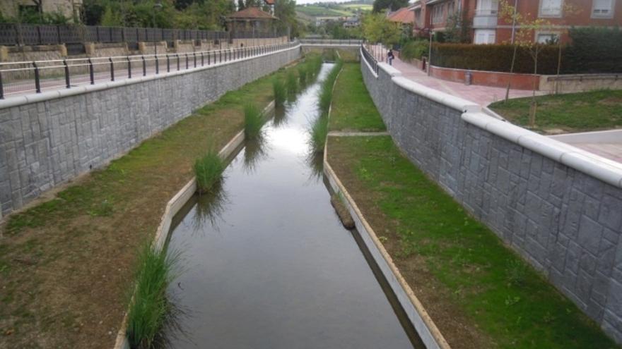 URA finaliza las obras del río Gobela en Errekagane (Getxo) tras una inversión de 16,2 millones