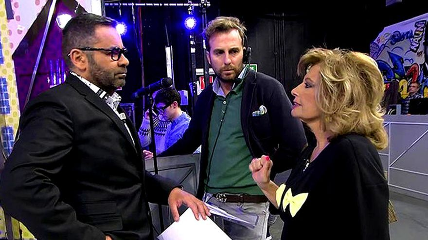 Mª Teresa Campos regresa a 'Sálvame' tras varias semanas de audiencia