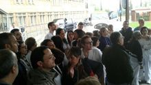 Concentración en hospitales en contra de las 'horas Cospedal'