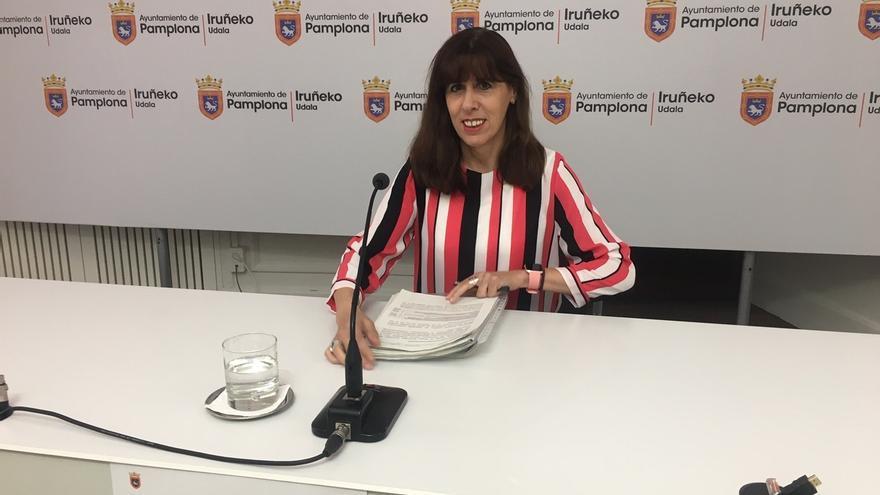 Maite Esporrín, nombrada vicepresidenta de la Mancomunidad de la Comarca de Pamplona