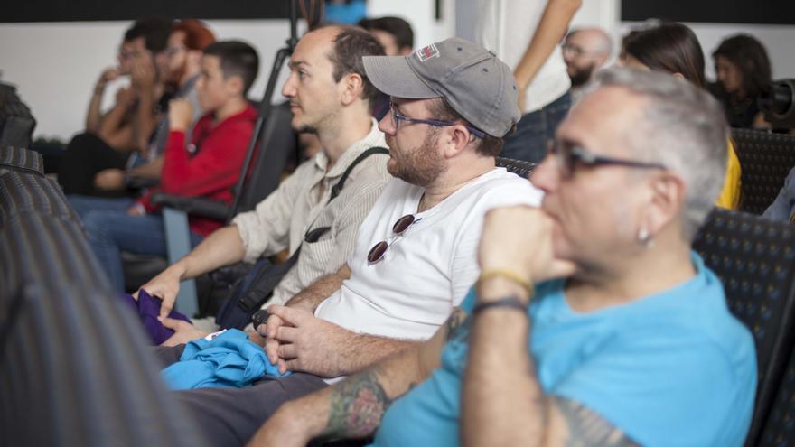 Presentacion La Palma Rueda. Director Raphael Biss.Foto: Virginia Park.