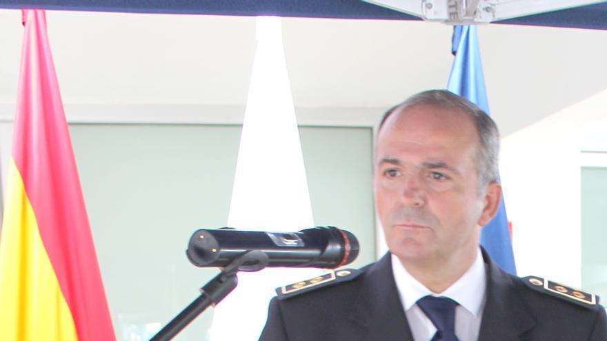 El inspector jefe Jesús Godoy presenta este viernes la película 'Serpico'.