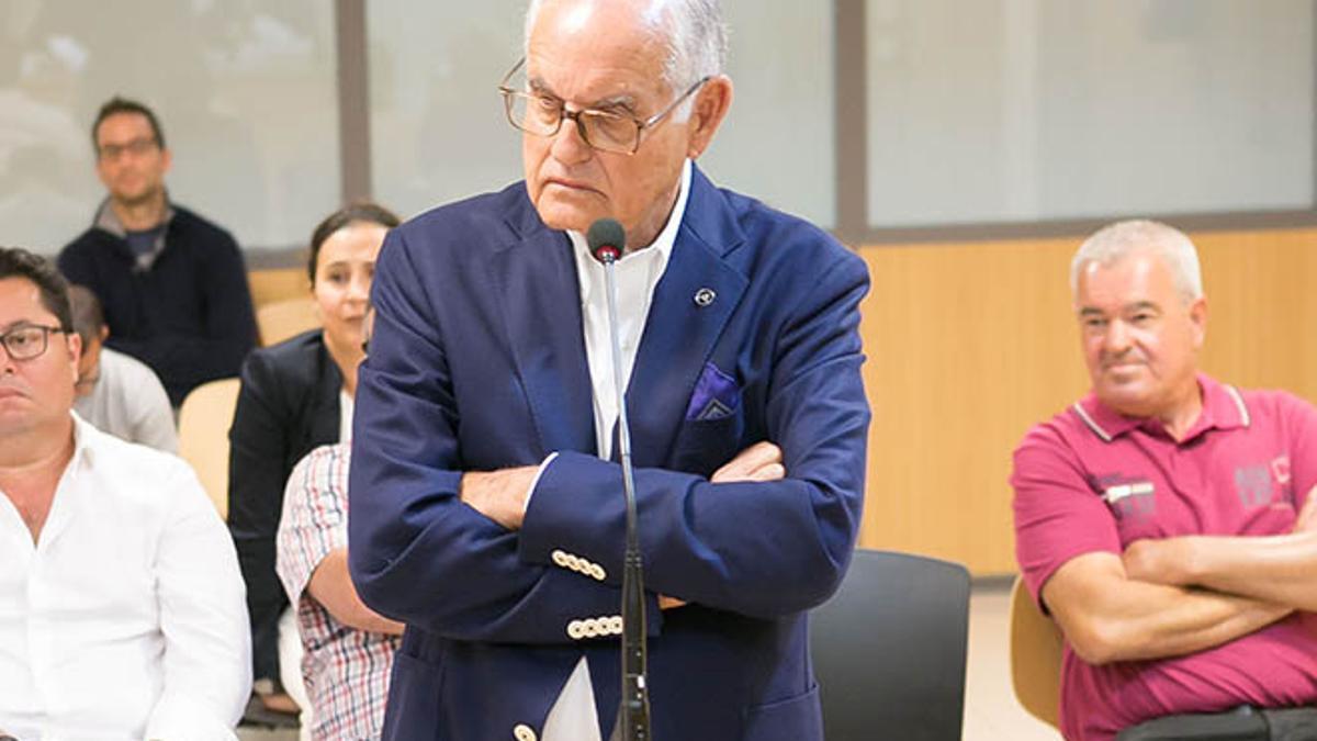 Domingo González Arroyo, exalcalde de La Oliva