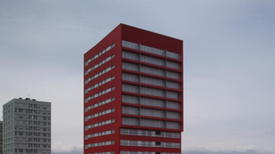 Edificio de VPO con sistemas de generación energética de alta eficiencia, en Vitoria