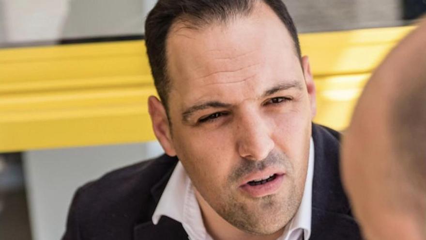 Jonathan Felipe, diputado por La Palma de CC en el Parlamento de Canarias.