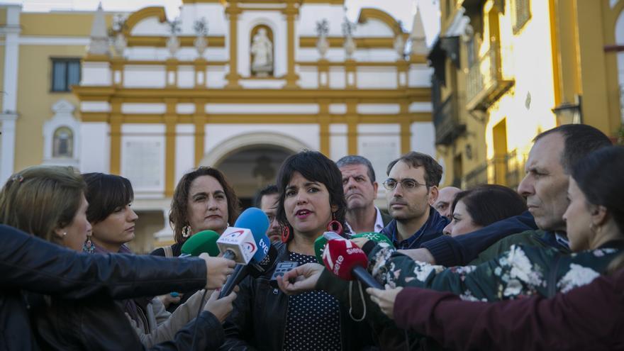 """Teresa Rodríguez: """"Sacar al fascismo de las sepulturas sí, pero de las instituciones también es fundamental"""""""