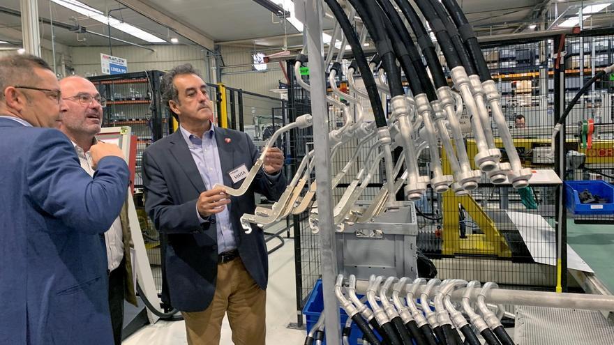 Maflow Spain Automotive multiplicará su actividad, creará 39 nuevos empleos y ampliará su planta en Guarnizo