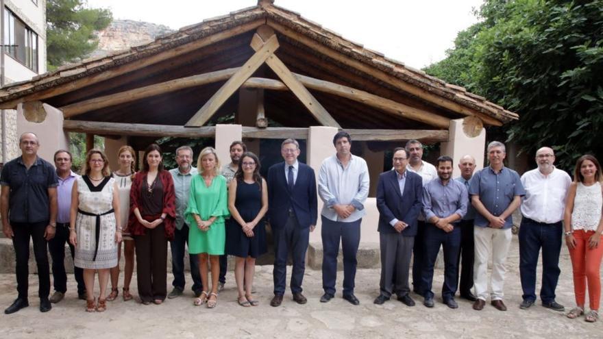 Los miembros del Consell celebran su cuarto seminario de Gobierno en Ademuz