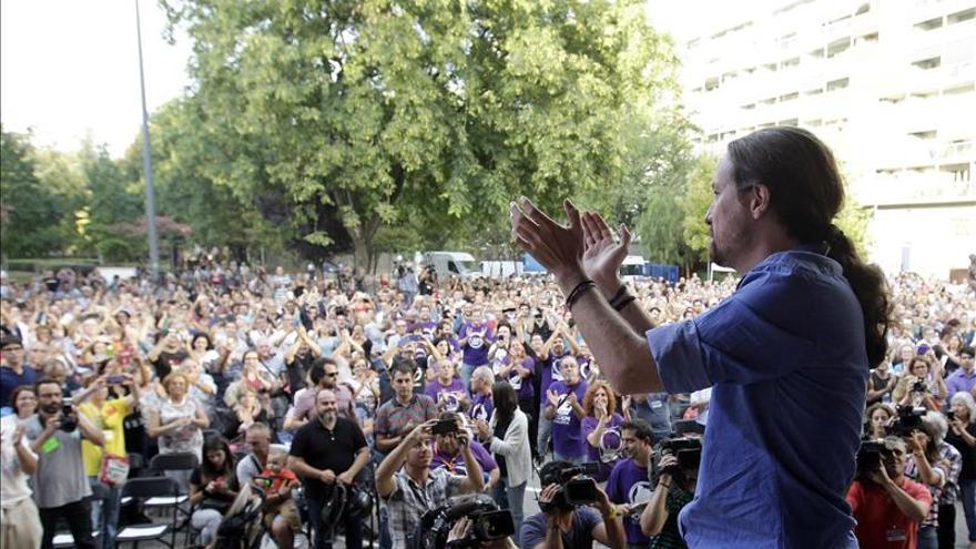 """Pablo Iglesias apoya a Syriza por representar el """"futuro"""" y una Europa """"más justa"""""""