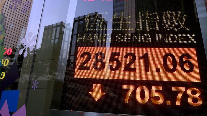 La Bolsa de Hong Kong abre con una subida del 0,31 por ciento