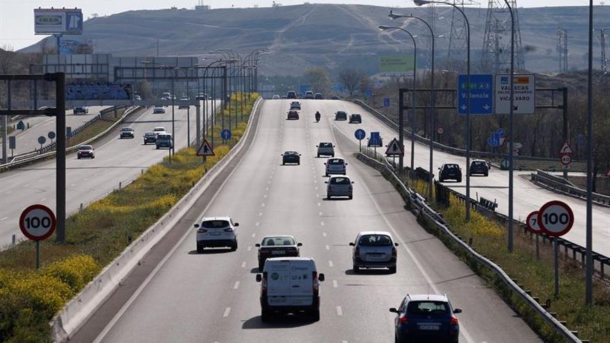 Nueve fallecidos en las carreteras españolas durante el fin de semana