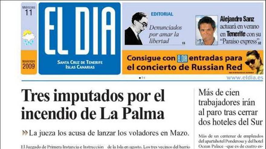 De las portadas del día (11/11/09) #3
