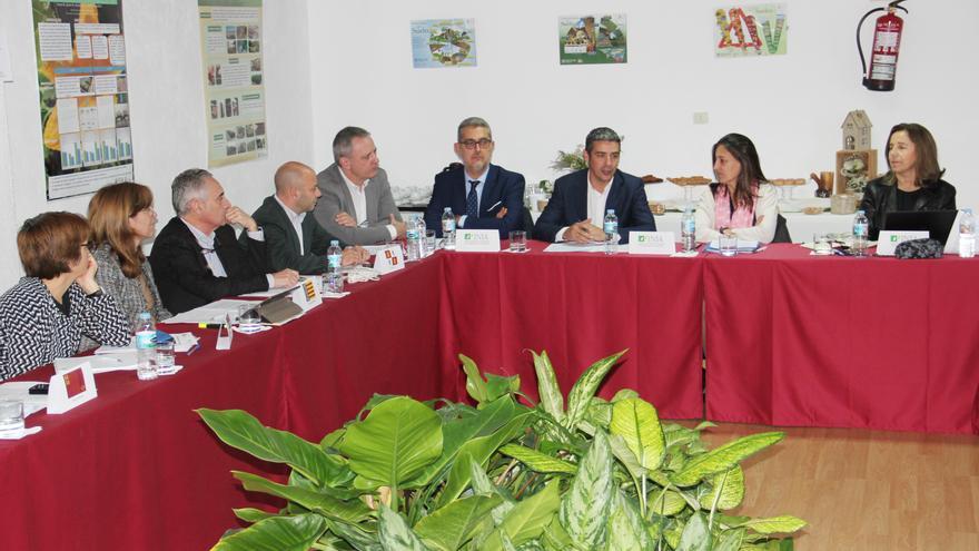 Reunión de este jueves en la sede del ICIA, con el INIA y otras comunidades autónomas