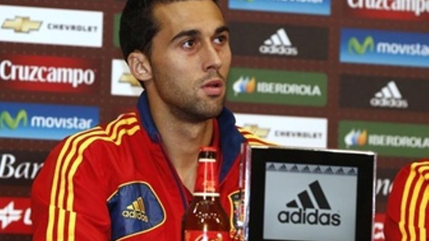 Álvaro Arbeloa Rueda Prensa Selección Española
