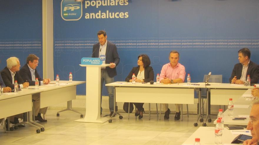 """Moreno dice que si la Junta """"no cambia de rumbo"""" presentará una enmienda a la totalidad de los presupuestos para 2015"""