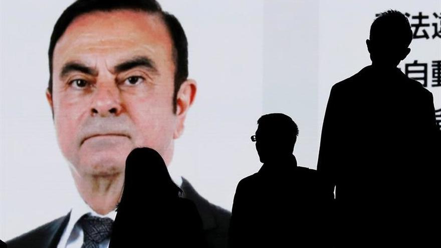 El expresidente de Nissan seguirá en prisión al menos hasta el 1 de enero