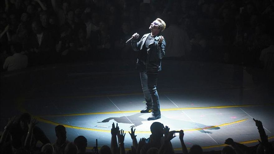 U2 tocará en París el próximo mes tras cancelar dos conciertos por los atentados