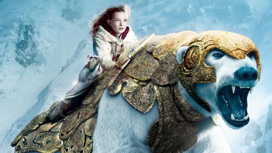 Lyra en la película 'La brújula dorada'