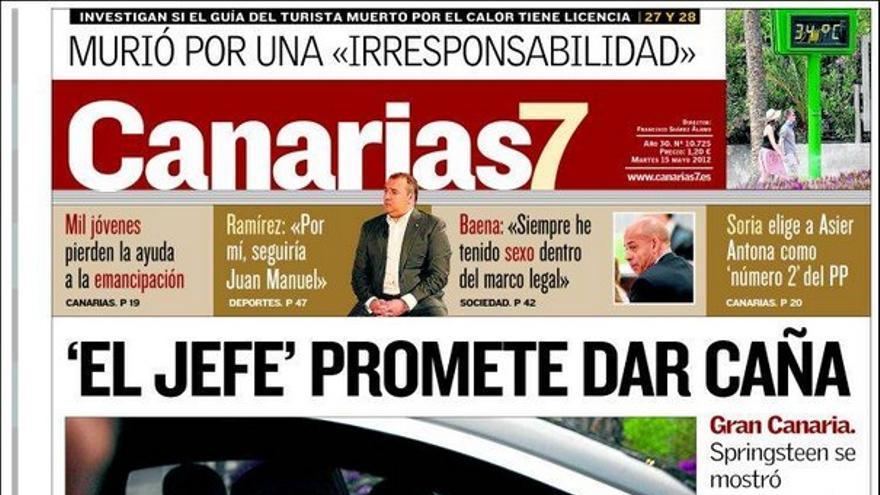 De las portadas del día (15/05/2012) #2