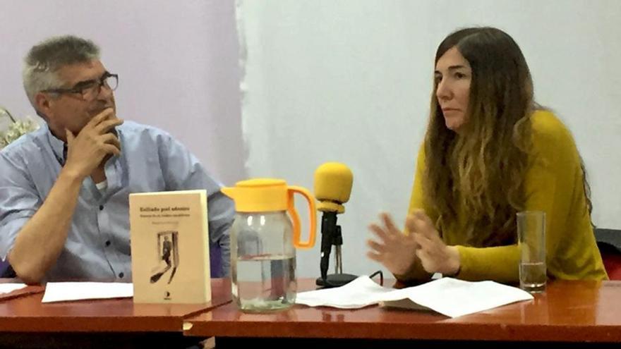 Manuel Martín Correa, antropólogo, y Ángeles De la Torre.