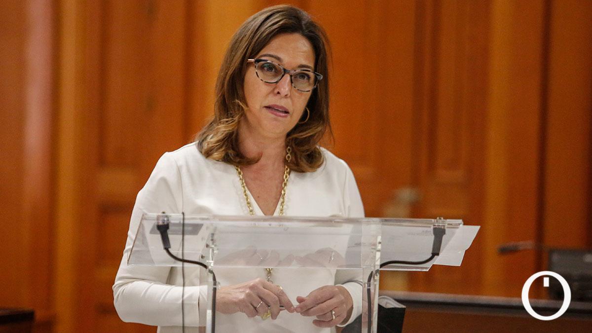 Isabel Ambrosio, portavoz del PSOE en el Ayuntamiento de Córdoba.