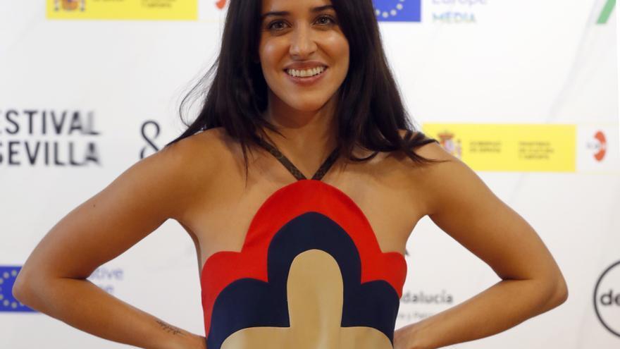 Macarena García recibe el Premio Luz en el Festival Iberoamericano de Huelva