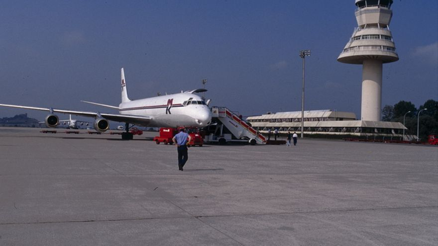 Imagen del aeropuerto de Foronda. Foto: Irekia