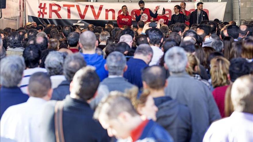 La dirección de RTVV no ratifica el preacuerdo por falta de unanimidad sindical