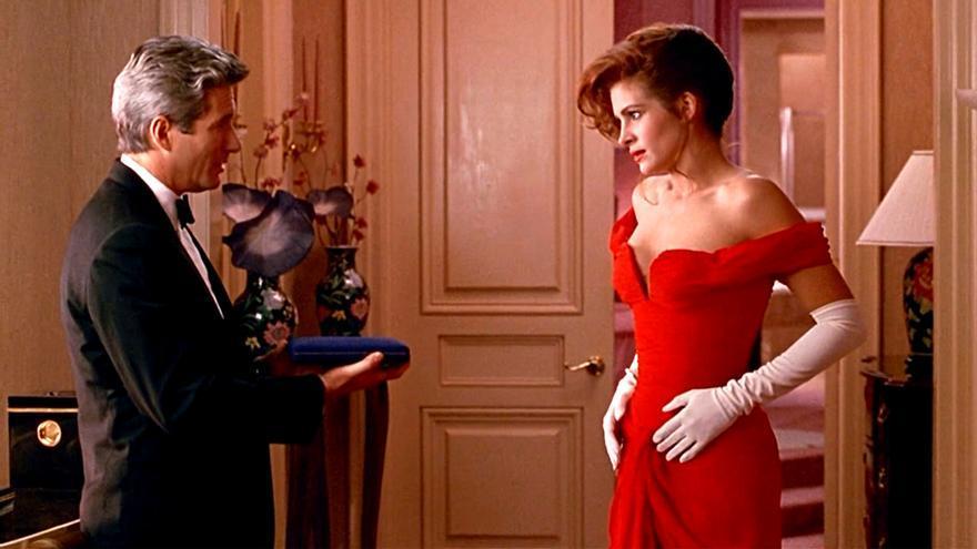 Pretty Woman, con Richard Gere y Julia Roberts