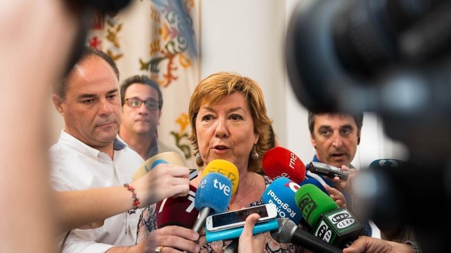 """La alcaldesa de Cartagena, """"dispuesta a todo siempre que se consiga un gobierno estable"""""""