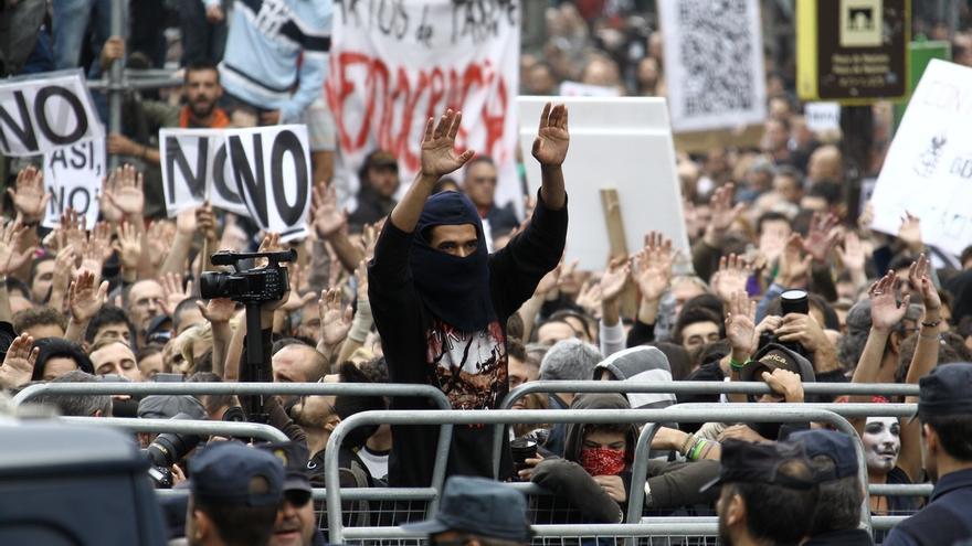 Los organizadores del 'Rodea el Congreso' planean una protesta el día de la investidura de Rajoy
