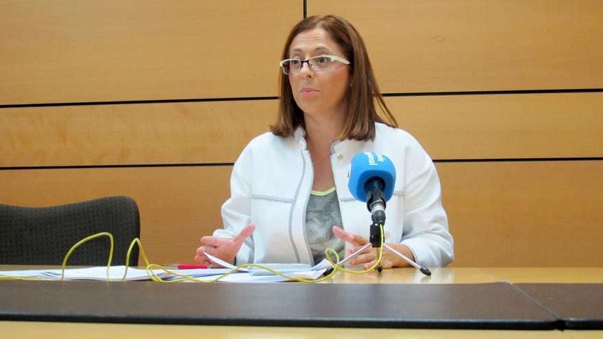 La concejala socialista en el Ayuntamiento de Murcia, Susana Hernández