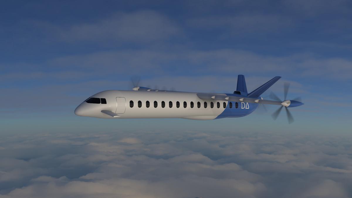 Simulación del avión eléctrico que desarrollan Air Nostrum, Volotea y Dante Aeronautical.