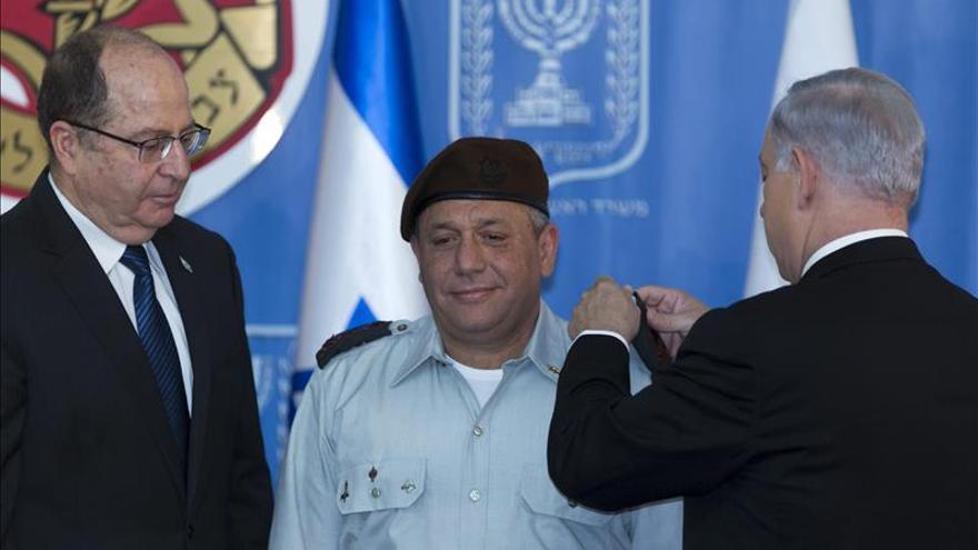 El general Gadi Eisenkot asume la jefatura de las Fuerzas Armadas de Israel