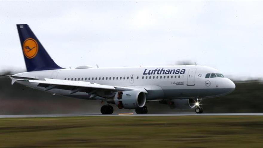 Lufthansa pierde 68 millones de euros en el primer trimestre, 8 veces más