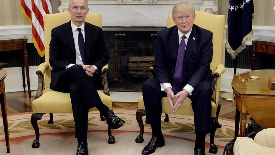 """Trump se desdice sobre sus críticas a la OTAN y la llama """"nuestra alianza"""""""