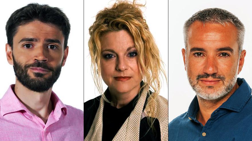 Alfredo Laín, Elena Gómez y Óscar Torres