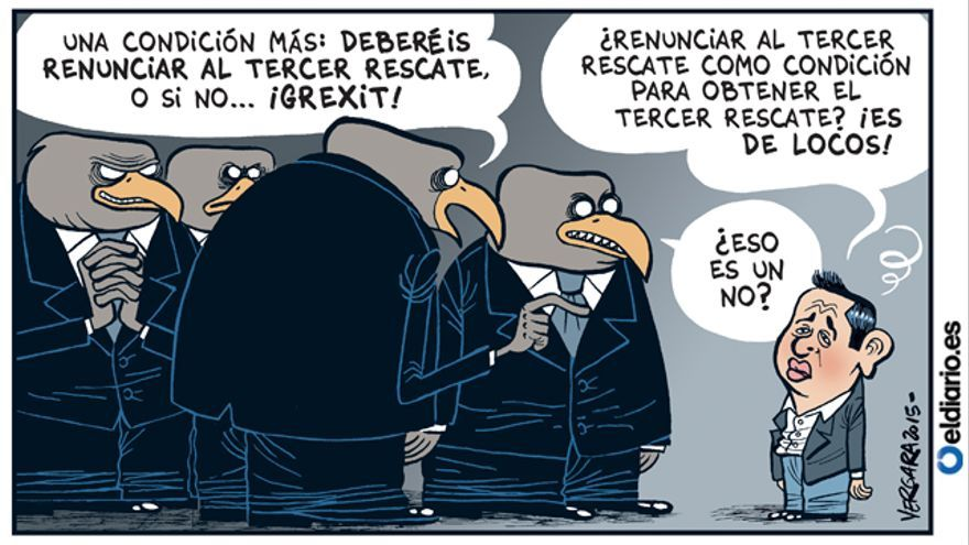 El Eurogrupo, cada vez más duro