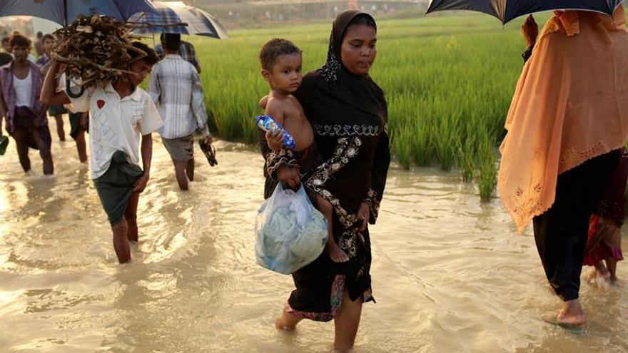 Continúa el flujo de rohinyás a Bangladesh a pesar del acuerdo con Birmania
