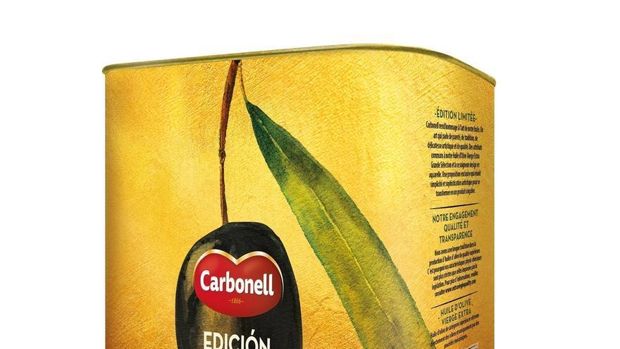 La empresa Carbonell lanza su nueva lata edición limitada de tres litros de aceite Virgen Extra Gran Selección