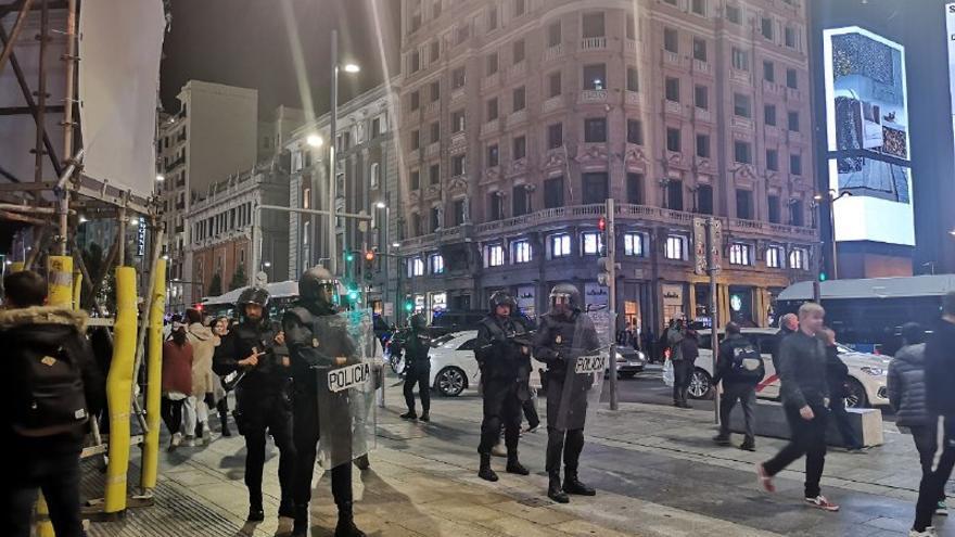 Policía en Callao
